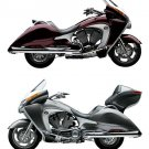 2008-2009-2010 Victory Vision Street / Tour Motorcycle Service Manual on a CD