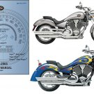 03-05 Victory Vegas / Kingpin Motorcycle Service Repair Workshop Manual CD