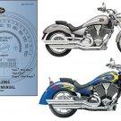03-05 Victory Vegas / Kingpin Motorcycle Service Repair Workshop Manual CD