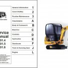 JCB 801.4 801.5 801.6 Mini Excavator Service Repair Manual CD - 8014 8015 8016