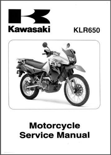 2008-2014 Kawasaki KLR650 Service Repair Manual CD - KLR 650