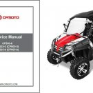 CFMoto Terracross Z6 Z6EX Z5 CF625-3 CF625-6 CF500-6 Service Repair Manual CD