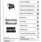 JCB 8052 8060 Mini Excavator Service Repair Manual CD