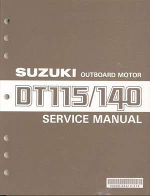 86-00 Suzuki DT115 DT140 2-Stroke Outboard Motor Service Repair Manual CD