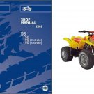 Can-Am DS50 DS90 ATV Service Repair Manual CD ------ BRP Bombardier DS 50 90