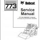 Bobcat 773 Skid Steer Loader Service Repair Manual CD