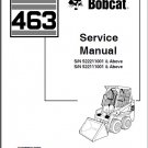 Bobcat 463 Skid Steer Loader Service Repair Manual CD