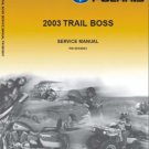 2003 Polaris Trail Boss 330 Service Repair Workshop Manual CD -- TrailBoss
