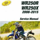 2008-2015 Yamaha WR250R / WR250X Service Manual on a CD