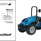 Landini Mistral 40 45 50 Tractor Training Repair Workshop Service Manual CD