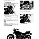 1982 Yamaha Maxim 1100 ( XJ1100 ) Service Manual on a CD