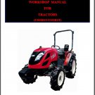 TYM T303HST - T353HST / T303 - T353 Tractor Service Manual on a CD