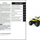2006-2007-2008-2009 Suzuki LT-Z50 QuadSport Service Repair Manual CD