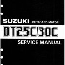 88-00 Suzuki DT25C DT30C 2-Stroke Outboard Motor Service Repair Manual CD