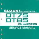 93-00 Suzuki DT75 DT85 2-Stroke Outboard Motor Service Repair Manual CD - DT 75 85