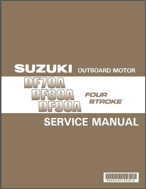 Suzuki DF70A DF80A DF90A Outboard Motor Service Repair Manual CD - DF 70 80 90 A