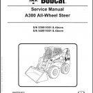 Bobcat A300 All-Wheel Skid Steer Loader Service Repair Workshop Manual CD