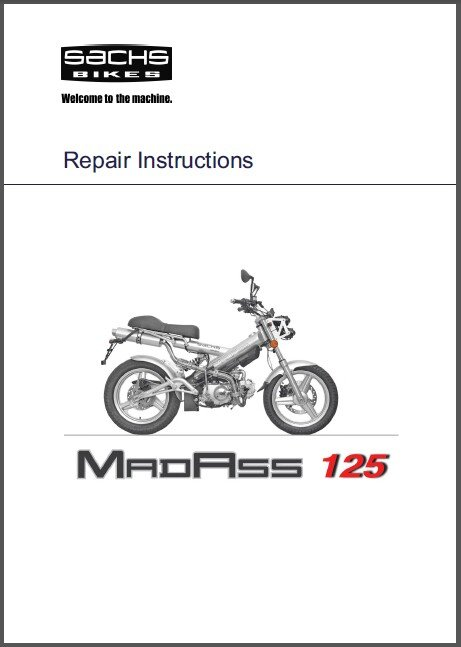sachs madass 50 125 service owners manual cd tomberlin xkeleton rh allymich ecrater com au Repair Manuals Service Station