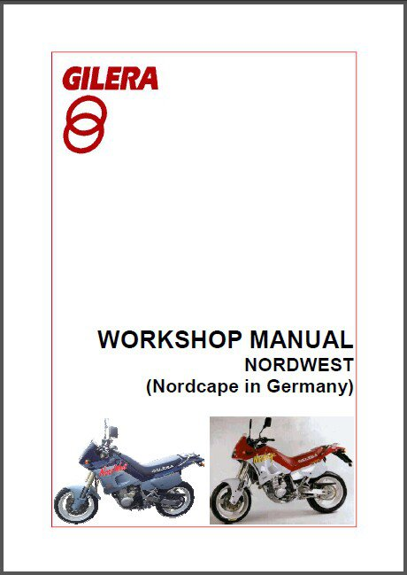 Gilera Nordwest Service Manual on a CD --- Nordcape
