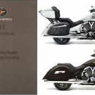 2011 Victory Cross Roads / Cross Country Motorcycle Service Manual on a CD