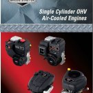 Briggs & Stratton Single Cylinder OHV Air-Cooled Engine Service Repair Manual CD