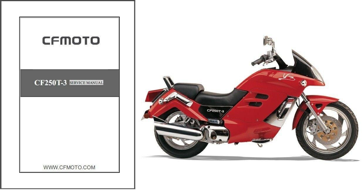 05-11 CFMoto V3 CF250T-3 Service Repair Manual CD  --  CF Moto CF250 T3 V 3