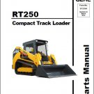 Gehl RT250 Compact Track Loader Parts Manual on a CD
