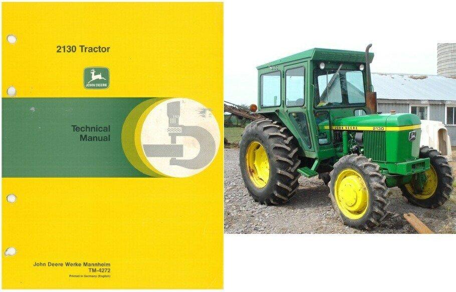 John Deere 2130 Tractor Service Repair Technical Manual CD