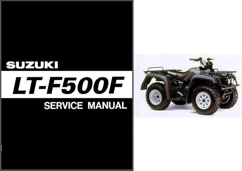 Suzuki quadrunner 500 Owners manual