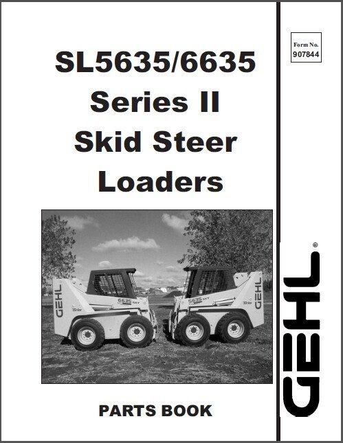 Gehl 6635 Service manual