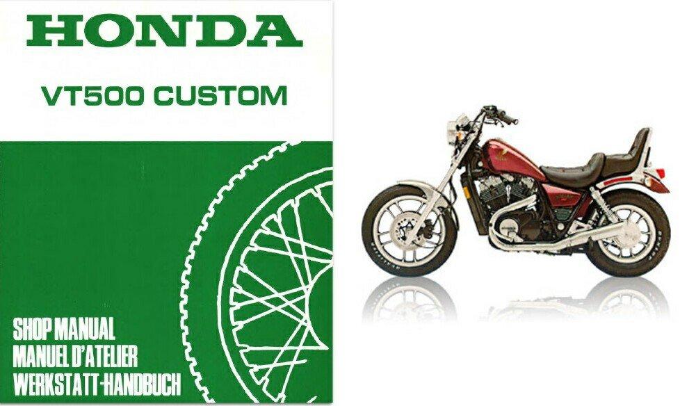 1983 1984 1985 1986 honda shadow 500 vt500c service manual cd rh allymich ecrater com 1985 Honda VT500C VT500C Shaved Fender