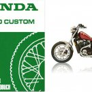 1983-1984-1985-1986 Honda Shadow 500 VT500C Service Manual CD