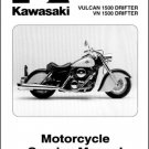 1999-2005 Kawasaki Vulcan 1500 / VN1500 Drifter Service Repair Manual CD