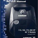 Evinrude E-TEC 115 150 175 200 HP Outboard Motor Service Repair Manual CD - Etec