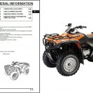2000-2003 Honda TRX350 TM/TE TRX350 FM/FE Fourtrax Rancher Service Manual CD