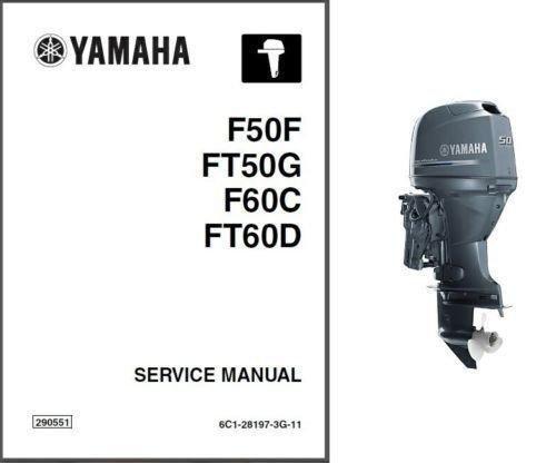 Yamaha F50 F60 Ft50 Ft60 Outboard Motor Service Repair border=
