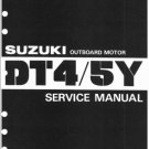 1985-1999 Suzuki DT4 DT5Y 2-Stroke Outboard Motor Service Repair Manual on a CD