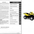 2005-2006-2007 Suzuki LT-A700X KingQuad 700 ATV Service Manual CD -- King Quad LTA700