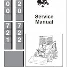 Bobcat 700 720 721 722 Skid Steer Loader Service Repair Manual CD