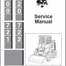 Bobcat 700 720 721 722 Skid Steer Loader Service Repair Manual CD
