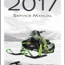 2017 Arctic Cat ZR / XF / M 9000 King Cat Snowmobile Service Manual on a CD