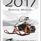 2017 Arctic Cat ZR / XF / Pantera 3000 5000 7000 Snowmobile Service Manual CD