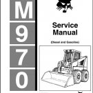 Bobcat M970 ( M 970 ) Skid Steer Loader Service Manual on a CD