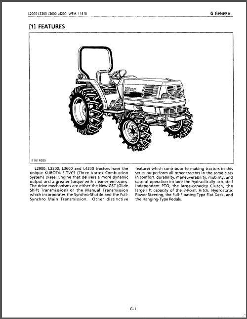 Kubota L2900 L3300 L3600 L4200 Tractor WSM Service Workshop Manual CD