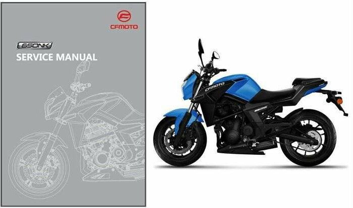 CFMoto 650NK Service Repair Workshop Manual CD .. CF Moto 650 NK