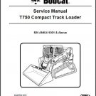 Bobcat T750 Compact Track Loader Service Manual on a CD