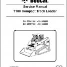 Bobcat T180 Compact Track Loader Service Manual on CD