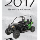 2017 Arctic Cat Wildcat Trail Service Repair Workshop Manual CD