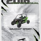 2016 Arctic Cat Wildcat Sport Service Repair Workshop Manual CD