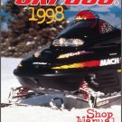 1998 Ski-Doo Grand Touring - Formula III - Mach 1 Service Repair Shop Manual CD